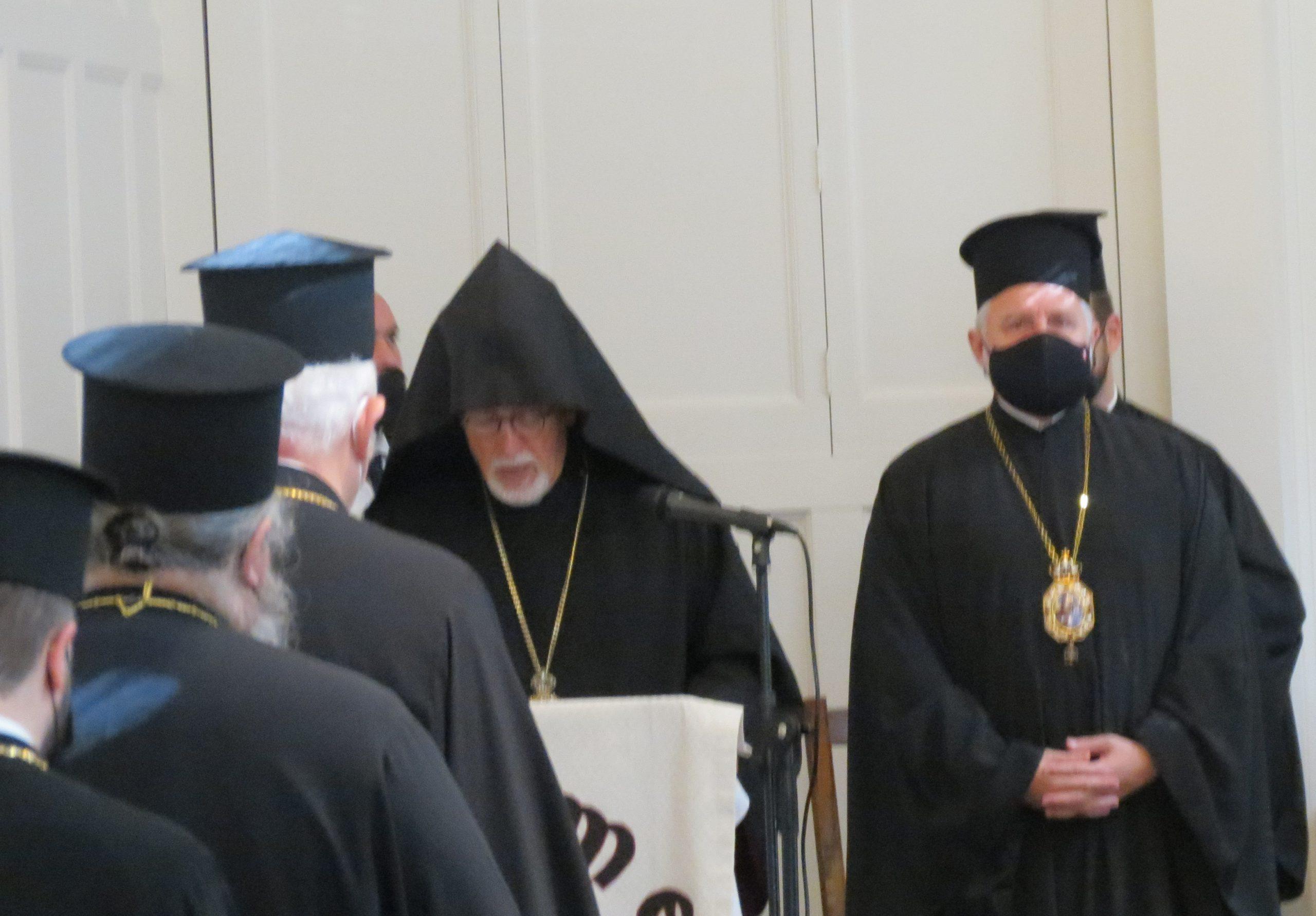 Closing Prayer by Archbishop Vicken Aykazian