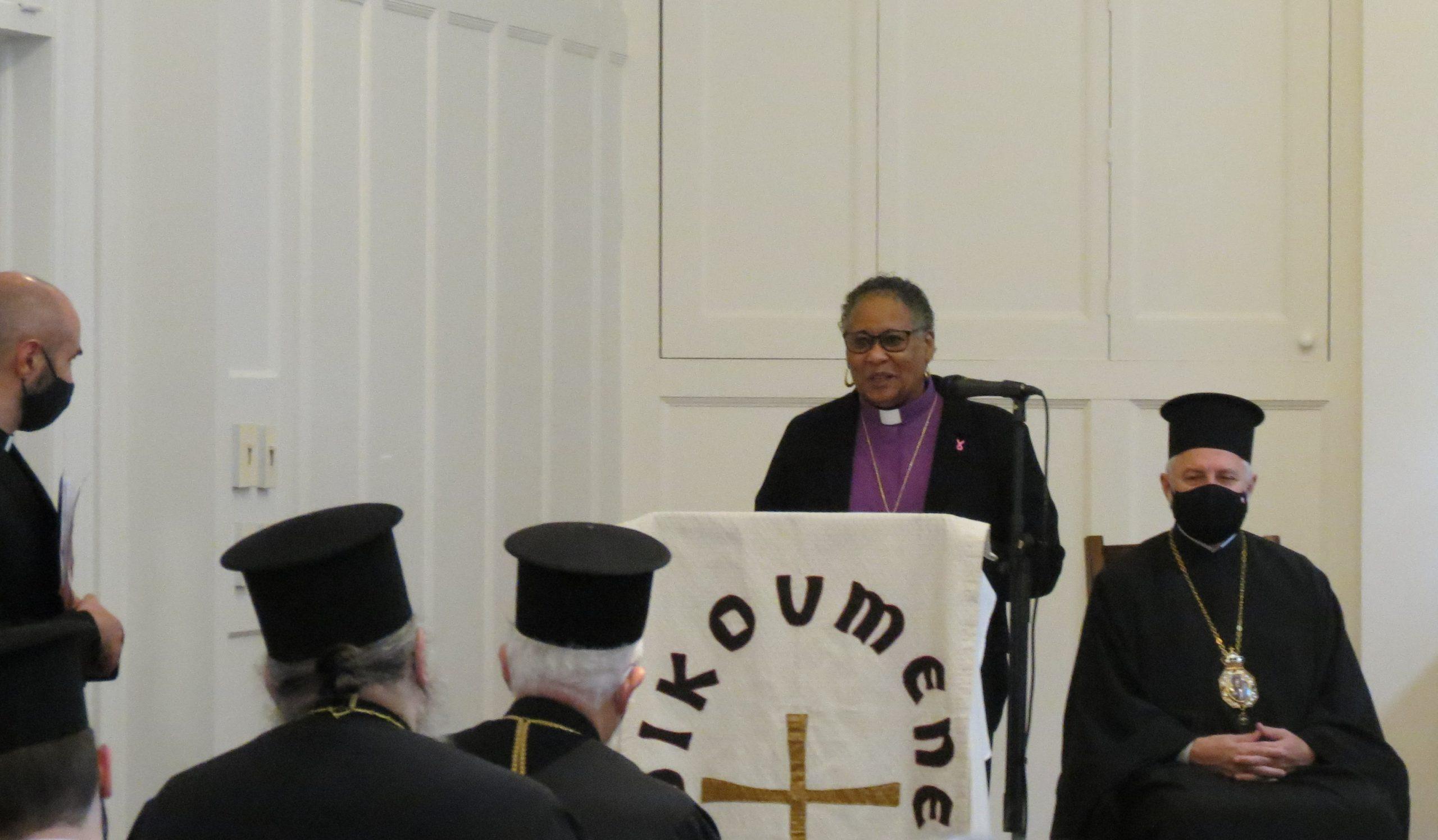 A warm welcome from Bishop Jefferson-Snorton