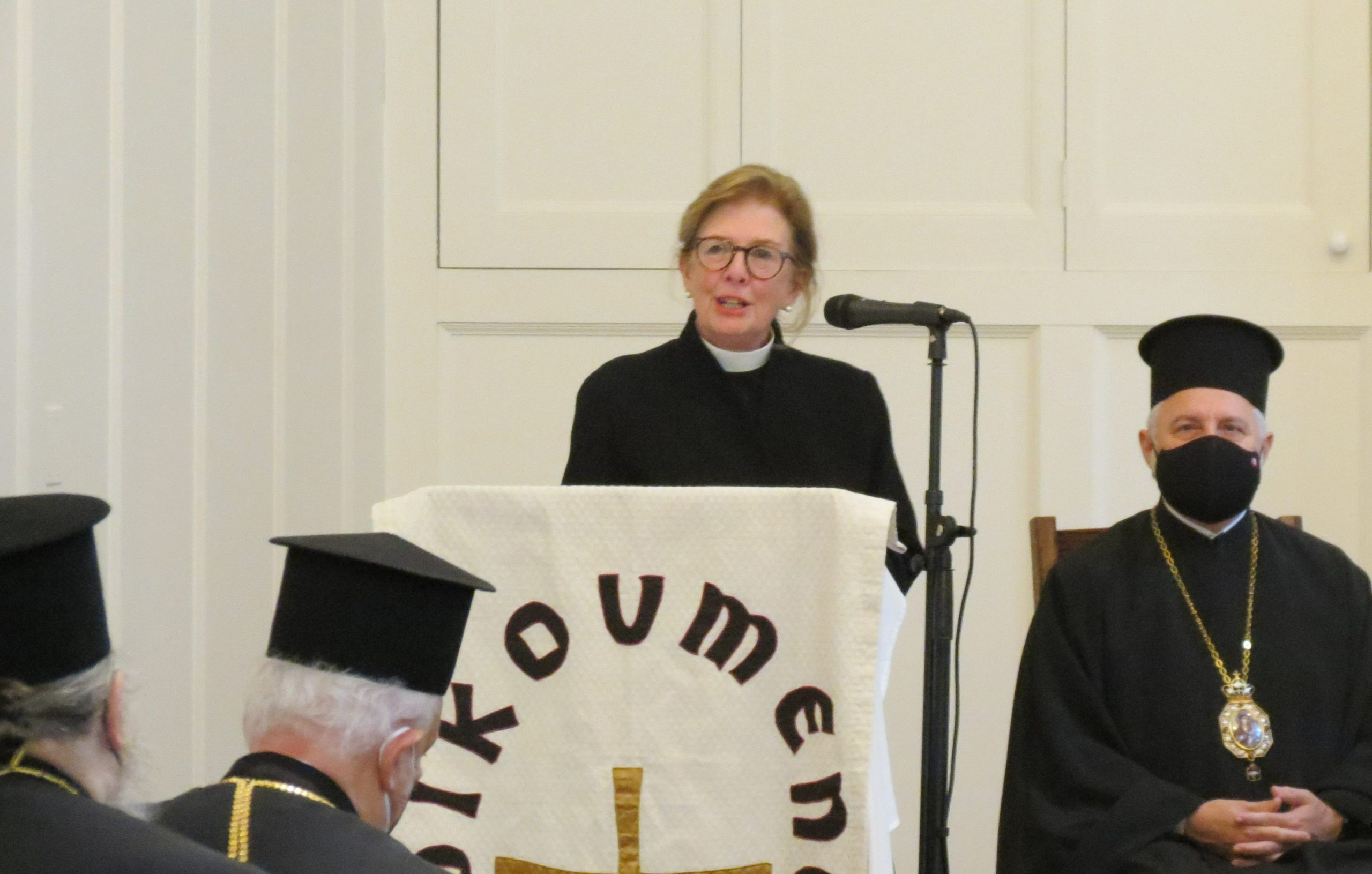 Rev. Susan Henry Crowe, General Secretary of the United Methodist Board of Church and Society